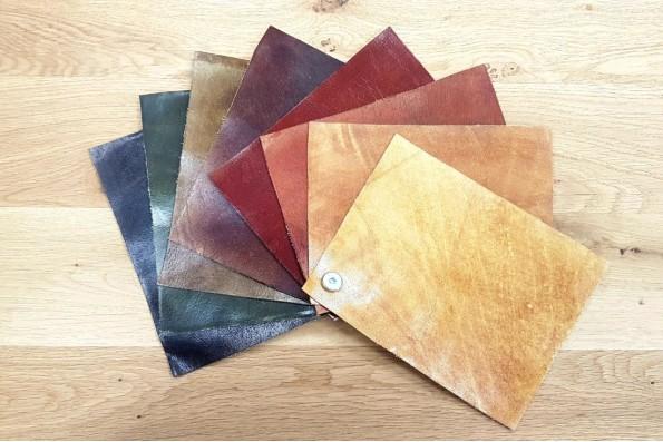 Echantillons de cuir