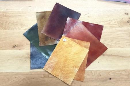 Échantillons de cuir