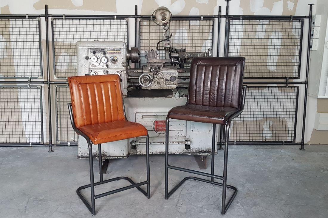 Chaises de bar industriel