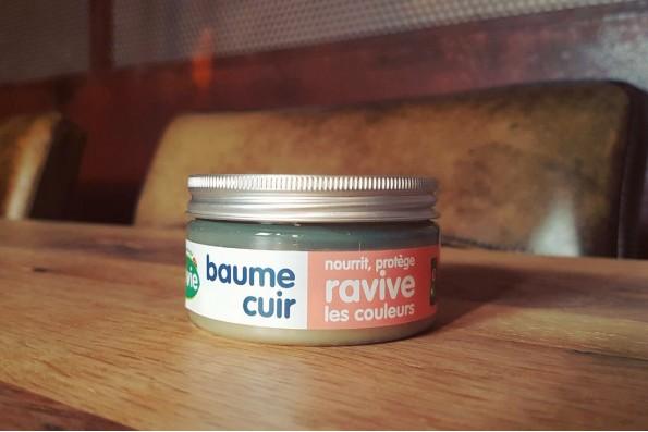 Baume pour cuir fabriqué à partir d'ingrédients naturels