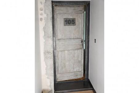 Numéro de porte style indus en métal effet grillage pour décoration industrielle effet chambre d'hôtel