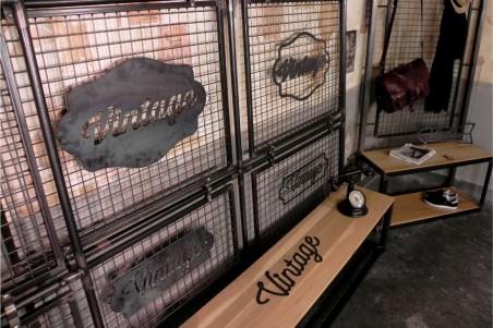 Plaque métal personnalisable, style industriel, déco vintage, design steampunk, original