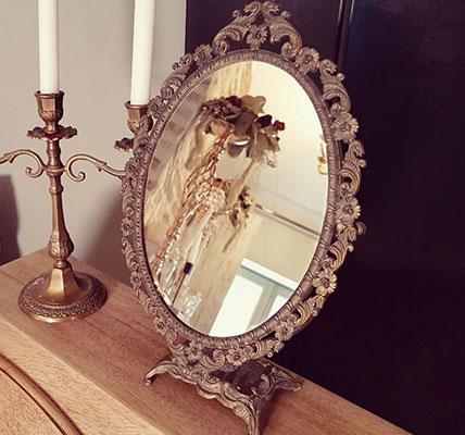 miroir vintage chiné